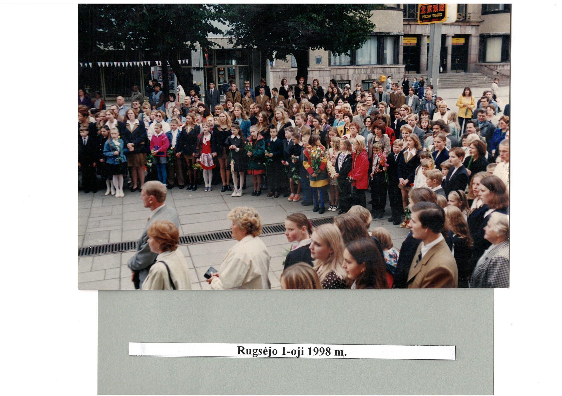 1998 m. Rugsėjo 1-oji