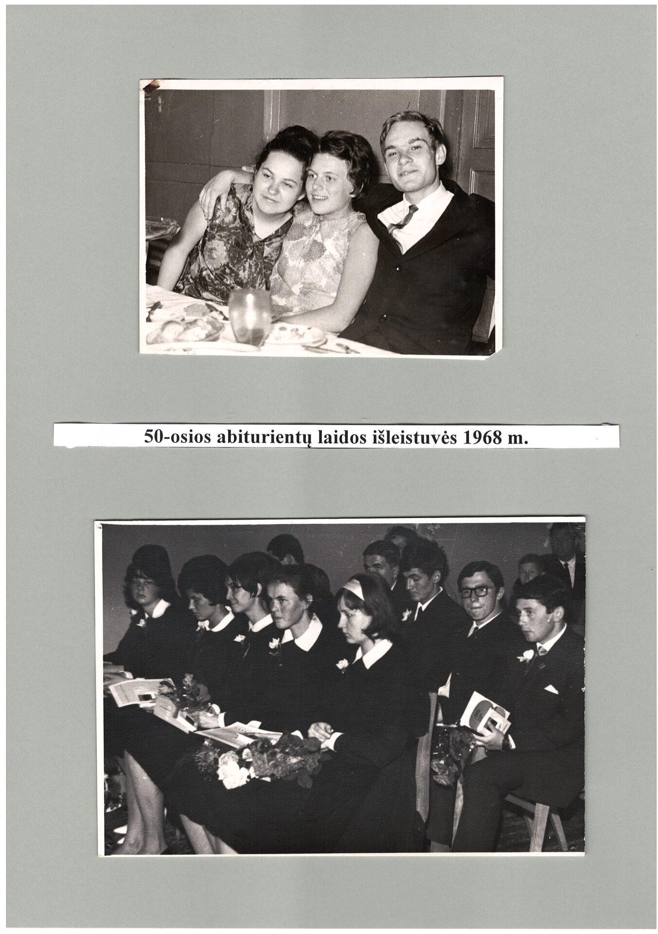 50-os laidos išleistuvės