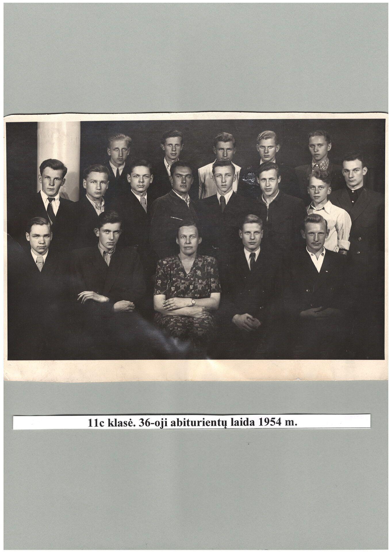 36-oji laida 1954 m.