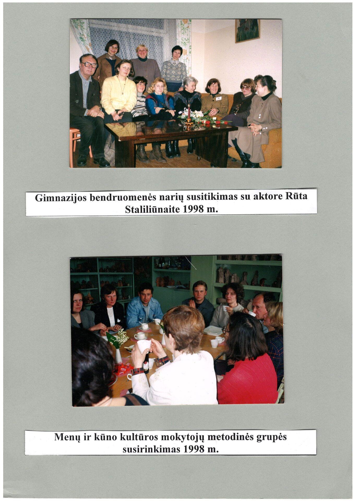 1998 m. susitikimai