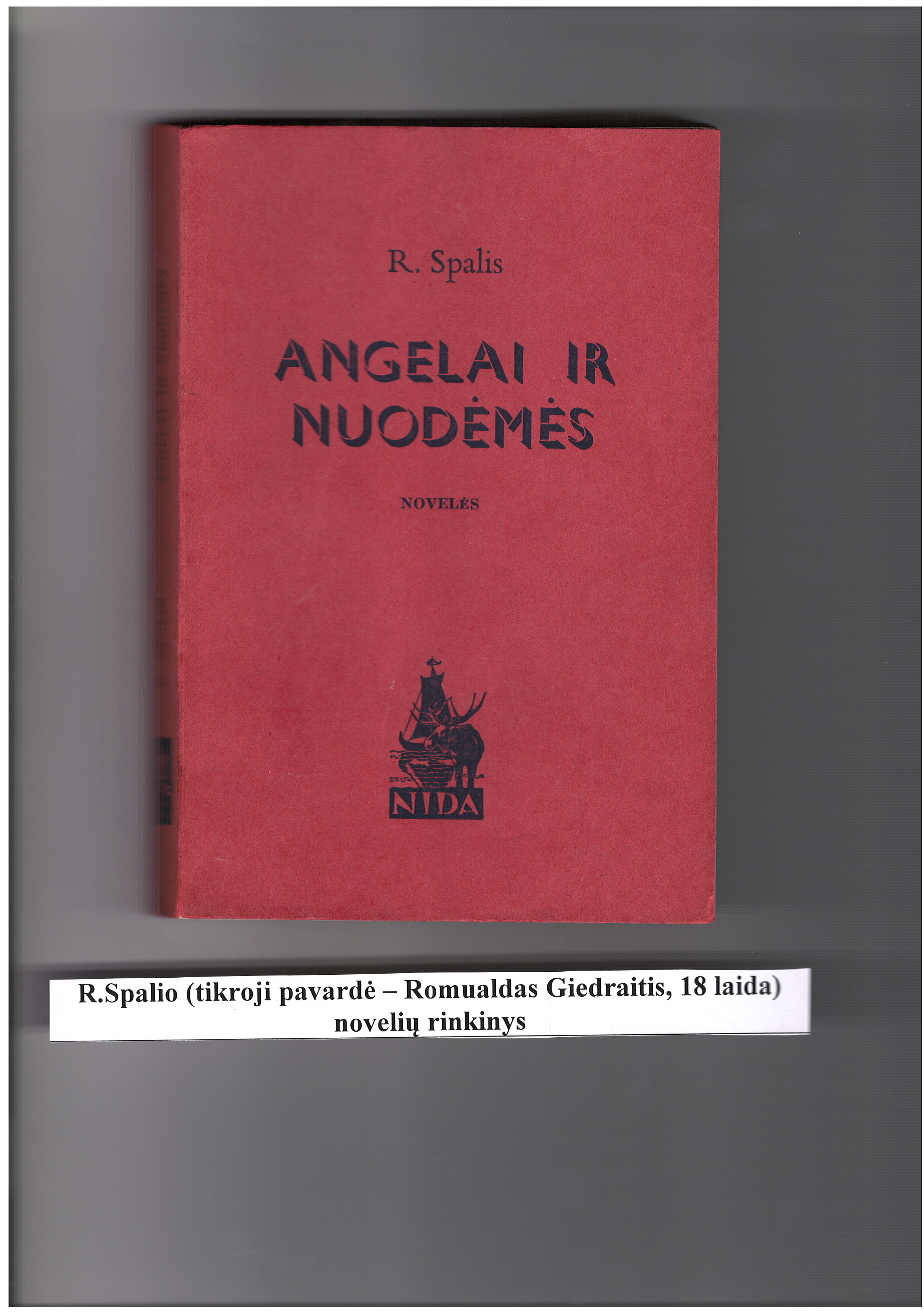 R.Spalio novelių rinkinys, 18 laida