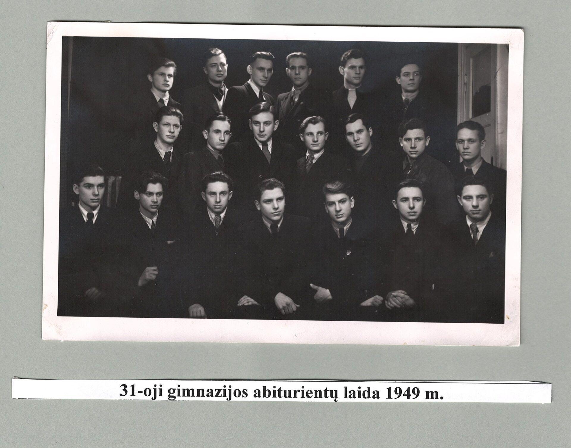 31-a laida, 1949 m.