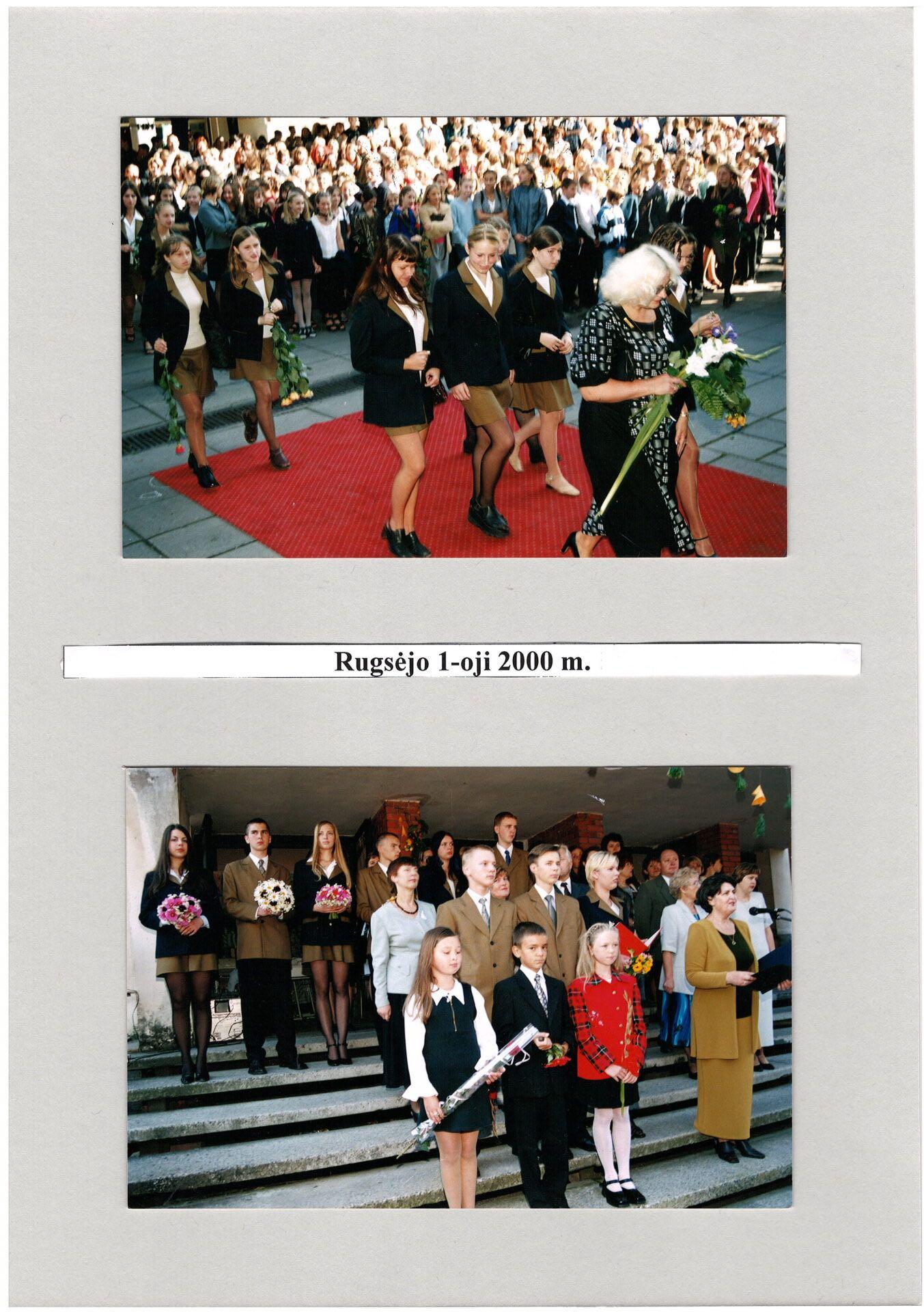 2000 m. Rugsėjo 1-oji