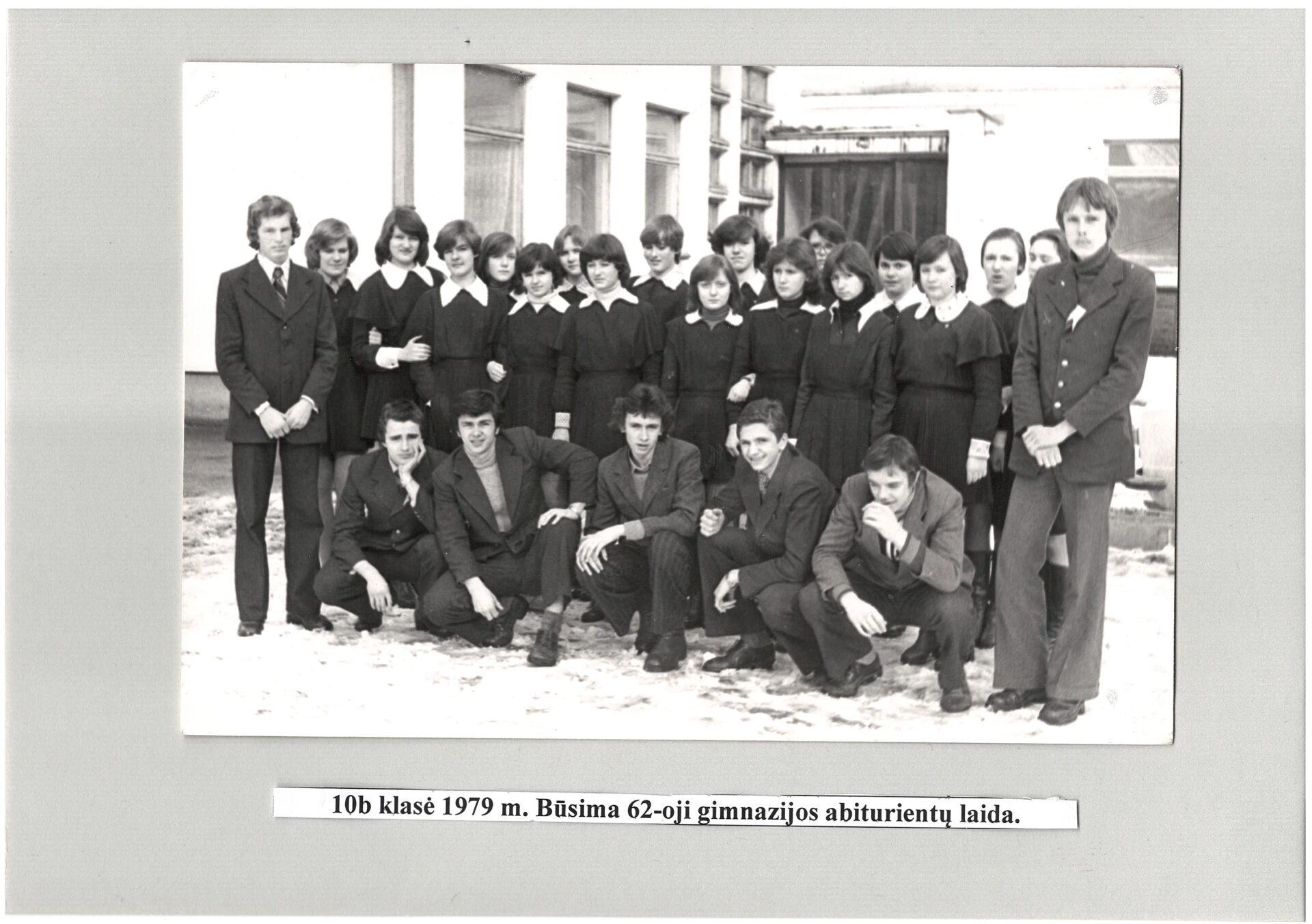 Būsima 62 laida, 1979 m.