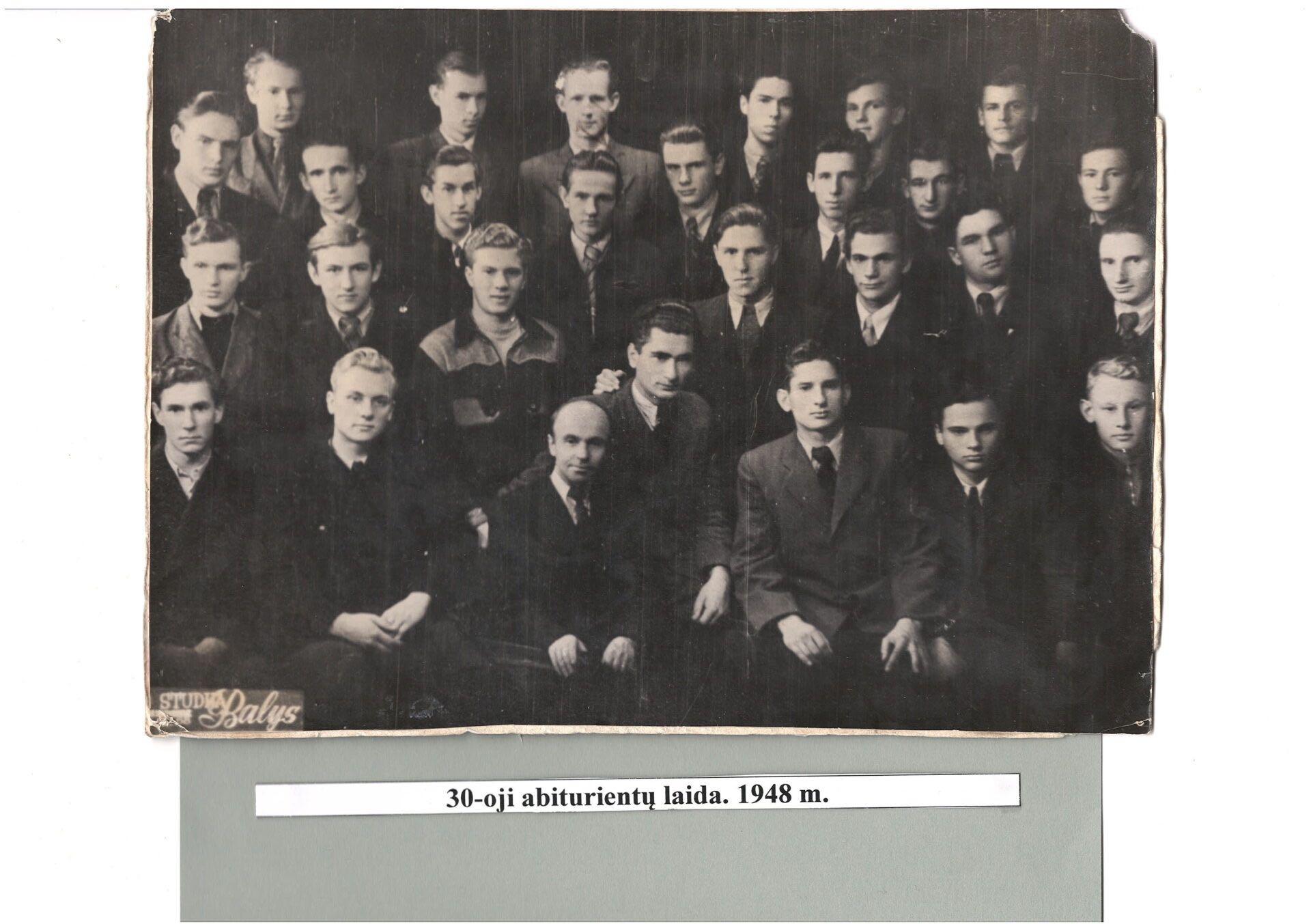 30-a laida, 1948 m.