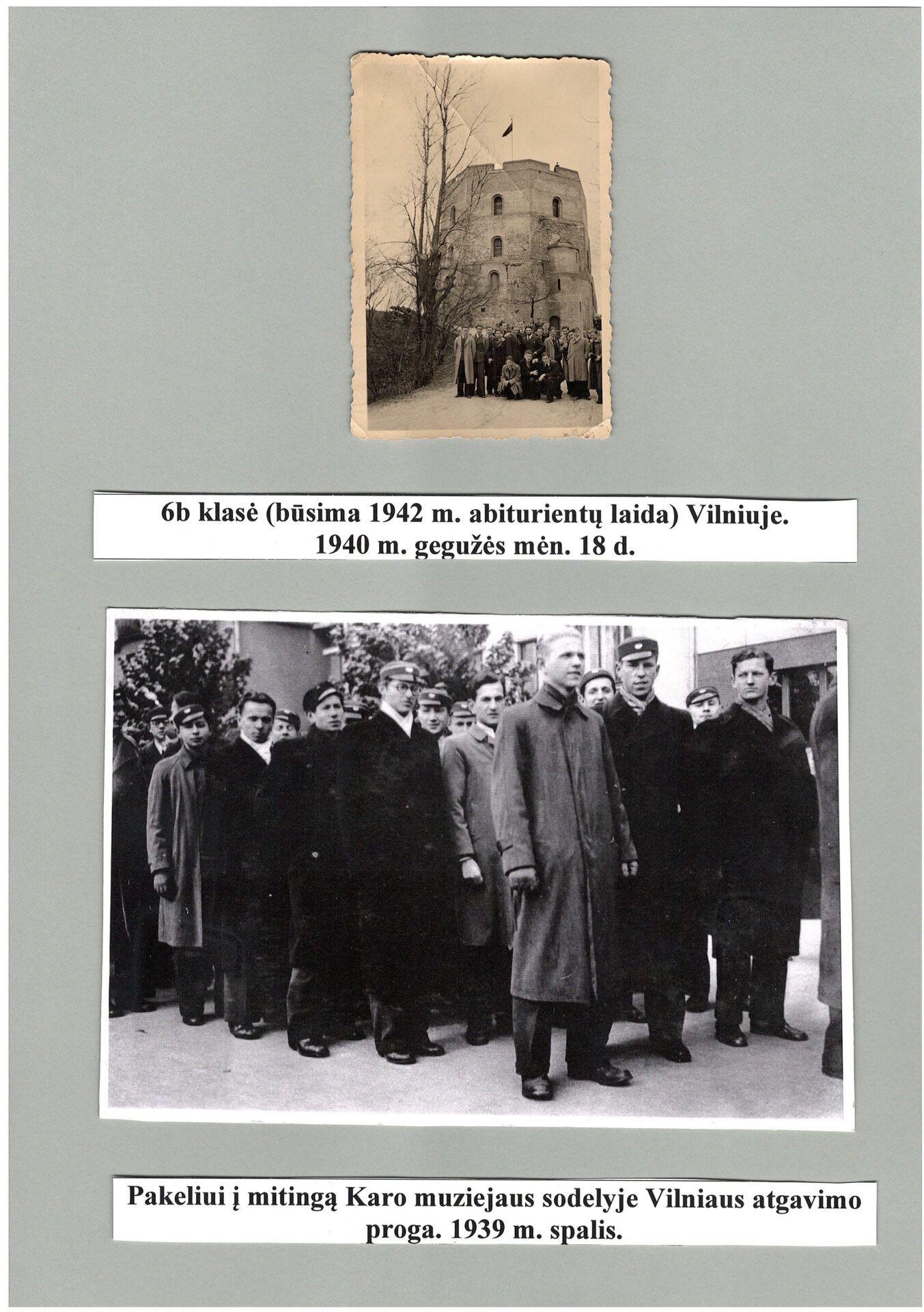 1939 - 1940 m.