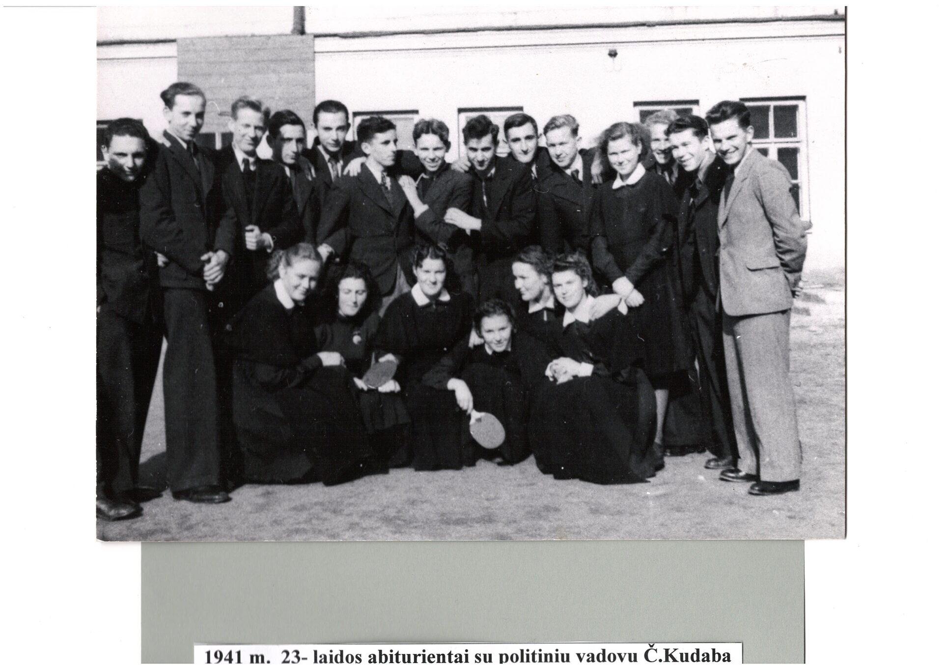 1941 m. su politiniu vadovu Č.Kudaba