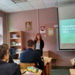 "Ekonomikos pamoka su VšĮ ""Versli Lietuva"" atstove"
